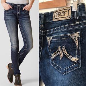 Miss Me skinny stretch jeans, size 28